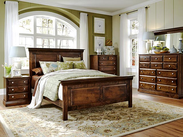Simply Amish Stickley Bedroom  Mission Furniture Craftsman