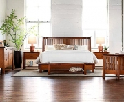 Stickley Park Slope Platform Bed