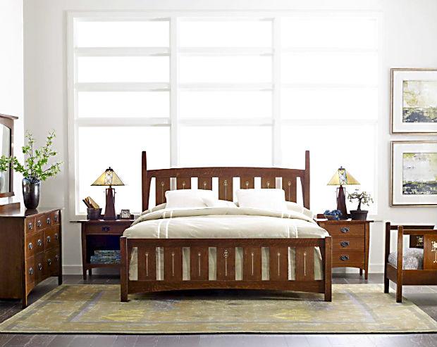 Stickley Bedroom | Mission Bedroom Furniture | Craftsman Bedroom ...